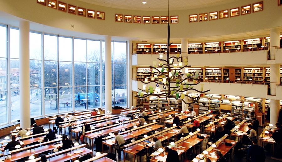 Business School library GU