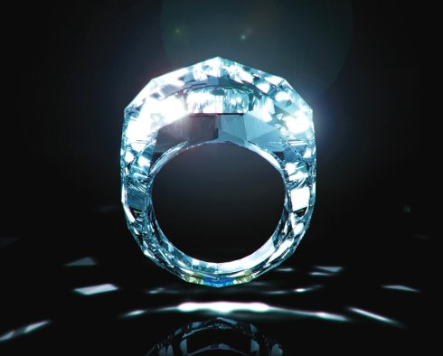 Cinderella Diamond Ring