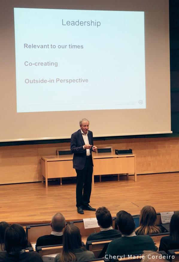Göran Carstedt, Assar Gabrielsson Professor, School  of Business,  Economics and Law, University of Gothenburg.