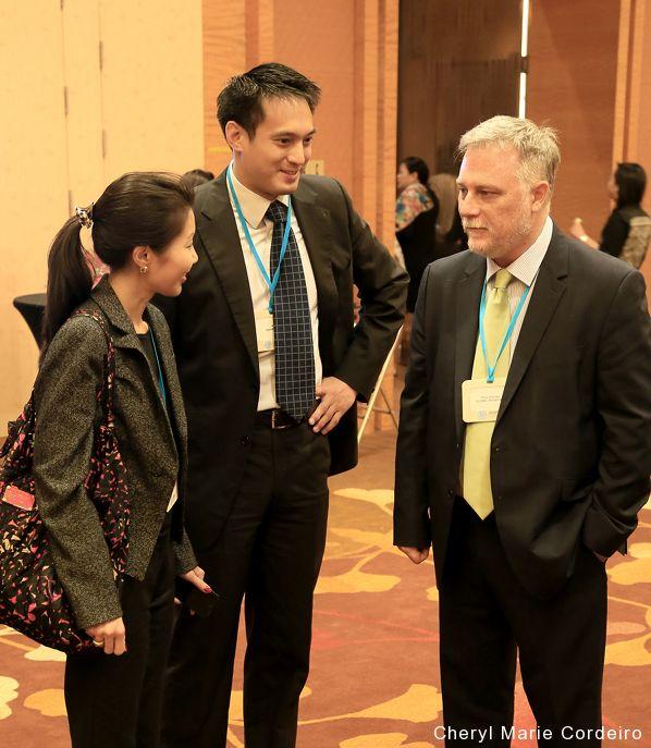 Cheryl Marie Cordeiro, Kevin Teng, Tony Gourlay, Responsible Business Forum (RBF) 2016, Marina Bay Sands, Singapore.