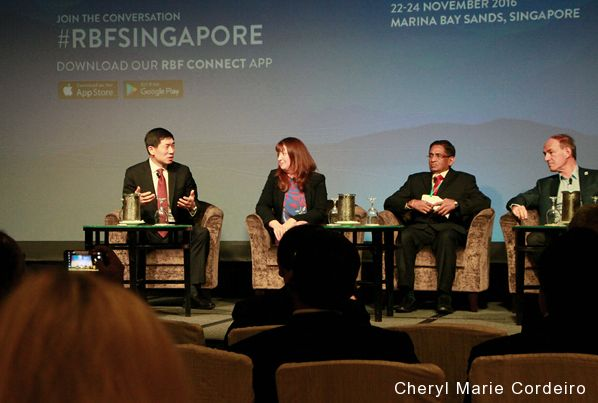 Responsible Business Forum (RBF) 2016, Marina Bay Sands, Singapore.